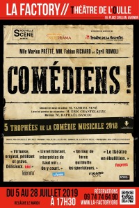 comédiens affiche off